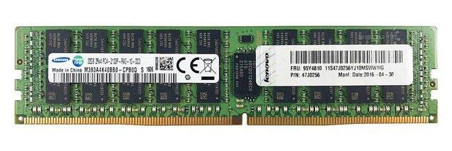 Pamięć RAM 1x 32GB Lenovo ThinkServer & System X DDR4 2Rx4 2133MHz ECC REGISTERED DIMM | 47J0256
